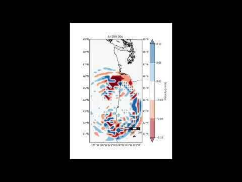 UW Simulation: 9.0 earthquake off Washington coast