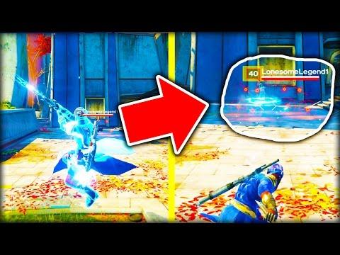 Destiny MYTHBUSTERS! - BLOCKING BOLT CASTER WITH SWARM GRENADES?! - Destiny Gameplay