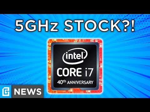 Leaked Intel Chip That's 5.1GHz STOCK?!