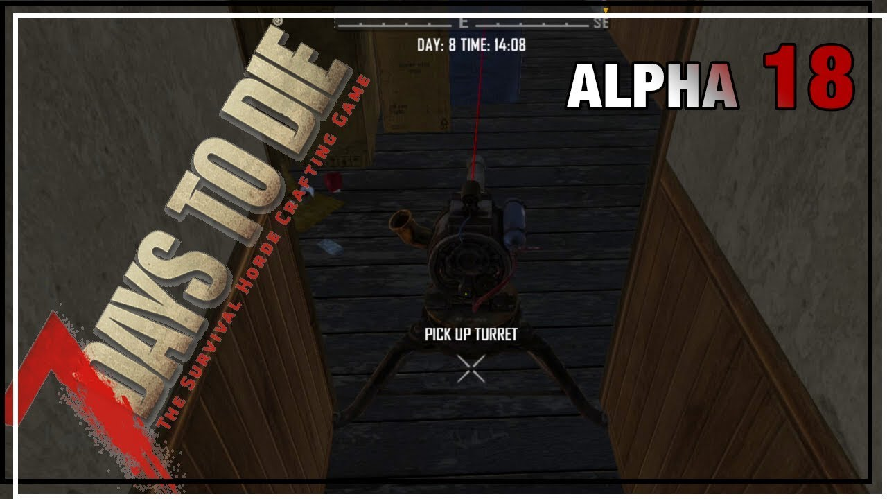 Junk Turrets Are My New Favorite 7 Days To Die Alpha 18 Ep
