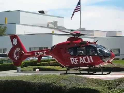 "Eurocopter EC135 ""REACH"" Helicopter Ambulance"