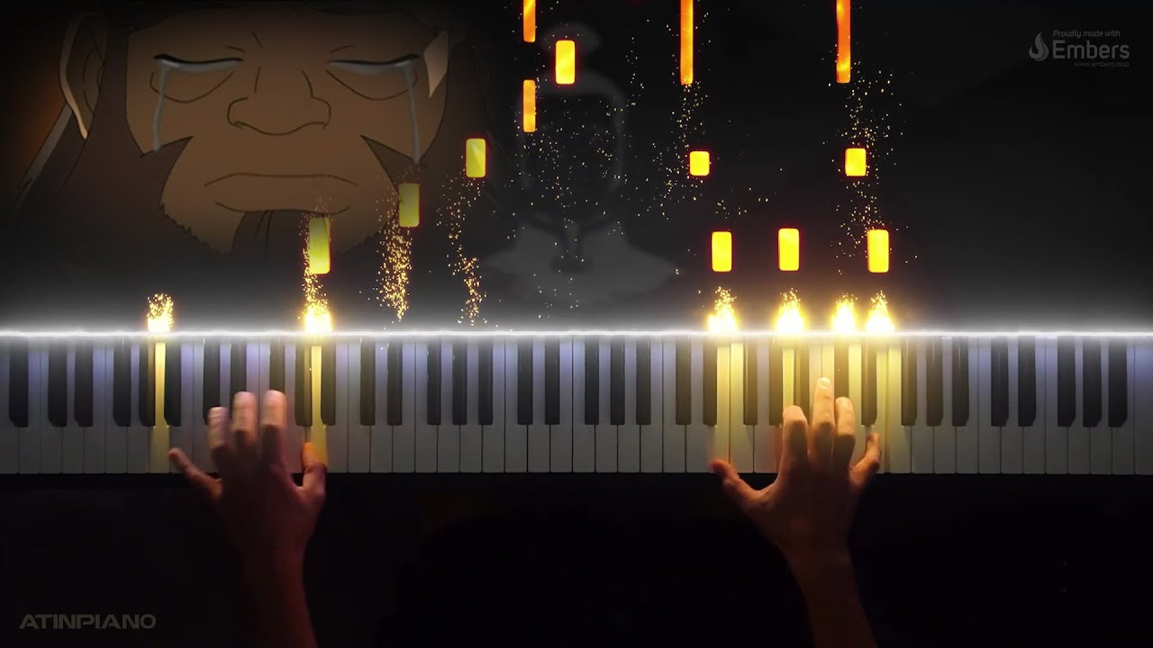 Leaves From The Vine Little Soldier Boy Avatar The Last Airbender Piano Cover Youtube