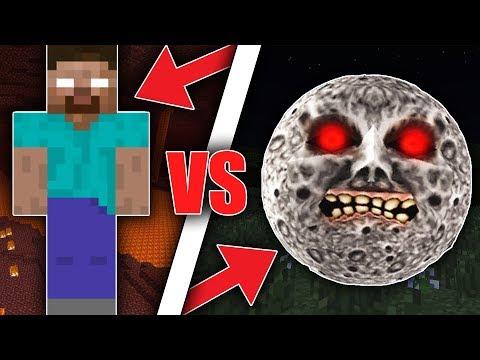 HEROBRINE VS LUNAR! DISTRUGGONO IL MIO MONDO! Minecraft ITA Seed
