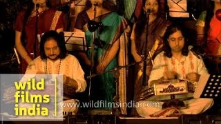 Ehsaas-e-Kashmir- fundraising concert by Pandit Bhajan Sopori with son Abhay Sopori