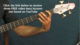 bass guitar songs lesson the distance cake