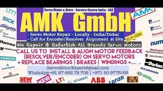 AMK Servo Motor Encoder Resolver Heidenhain Repair UAE Dubai Kuwait Bahrain Oman Saudi KSA