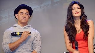 Aamir Khan and Katrina Kaif unveiled Dhoom 3 Celebrity dolls by Mattel Toys