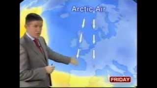 BBC Weather 16th December 2010: Severe wintry spell arrives