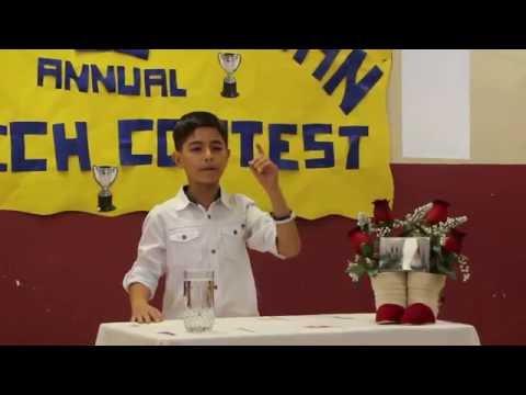 Panamerican Speech Contest 2016