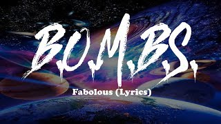 Fabolous - B.O.M.B.S. (Lyrics)