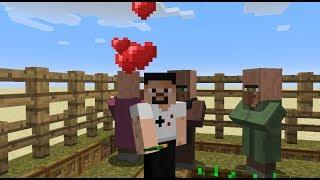 KÖYLÜ FARMI NASIL YAPILIR - Minecraft 1.13