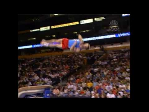Paul Hamm - Vault - 2004 U.S. Gymnastics Championships - Men