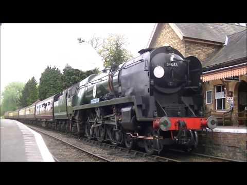 Severn Valley Railway 16/04/2017-Green Timetable