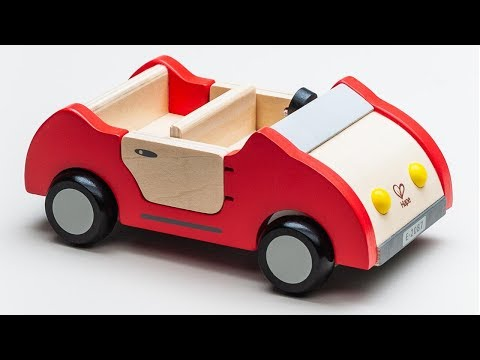 Hape Toys Wooden Family Car | Stop Motion Animation