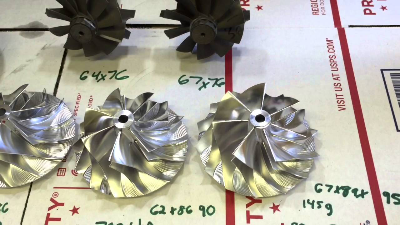 Holset HX40 67mm, 62mm, and 60mm Complete Turbos