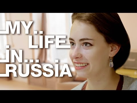 My life in Russia: Sidney Divine from Alaska, USA