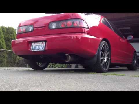 Acura Integra Aftermarket Exhaust Sound YouTube - Acura integra aftermarket parts