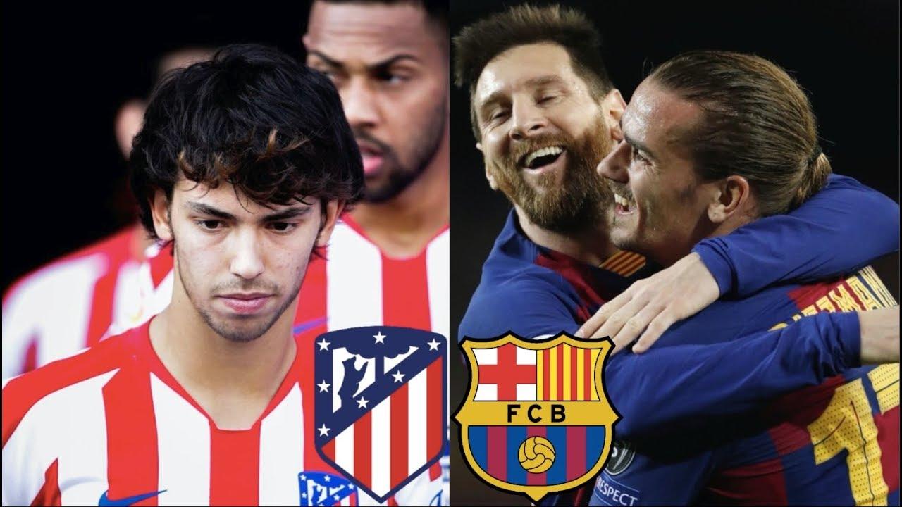 Atletico Madrid vs Barcelona, La Liga 2019/20 - MATCH PREVIEW - YouTube