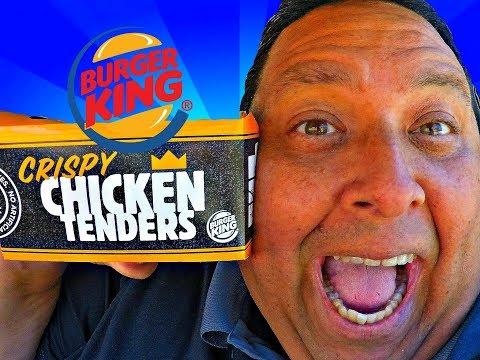 Burger King's® CRISPY CHICKEN TENDERS REVIEW!