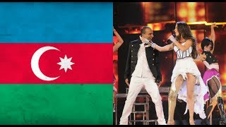 My TOP 10 entries from Azerbaijan in Eurovision (2008-2018)