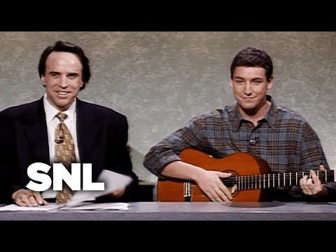 Weekend Update: Adam Sandler on Thanksgiving  SNL