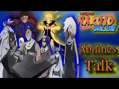 Naruto Online: Reading All Great Ninja War TREASURE Ninjas Abilities