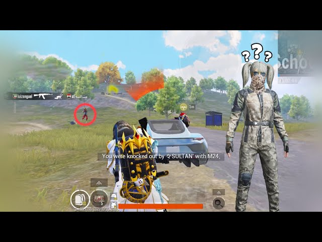 is HE BEST SNIPER?😰   HE KILLED ME with M24!!   PUBG MOBILE Standard quality (480p)