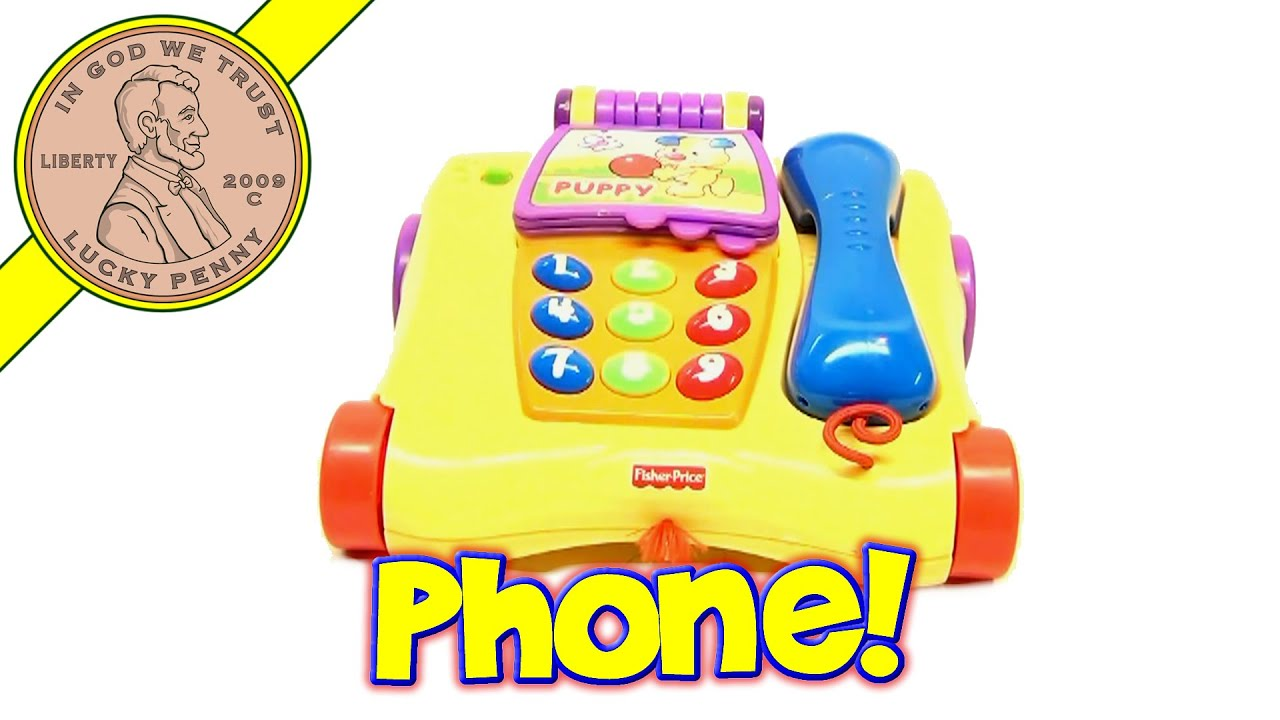 Fisher Price Laugh & Learn Counting Friends Phone Toy N7322