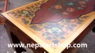 Tibetan Hand Painted Furniture Manufacturer And Exporter