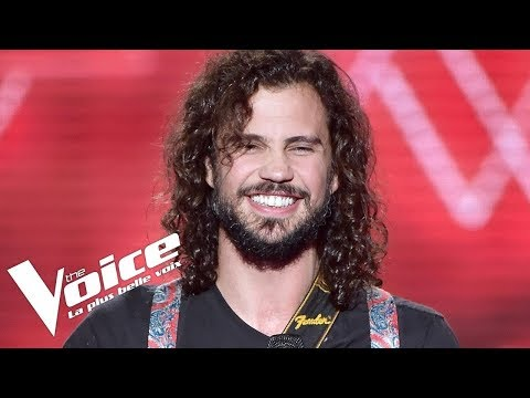 Depeche Mode - Personal Jesus | Jorge Sabelico | The Voice France 2018 | Blind Audition