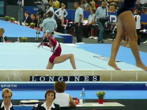 [HD] Anastasiia Koval (UKR) Floor Team Qualifications 2007 Stuttgart World Championships