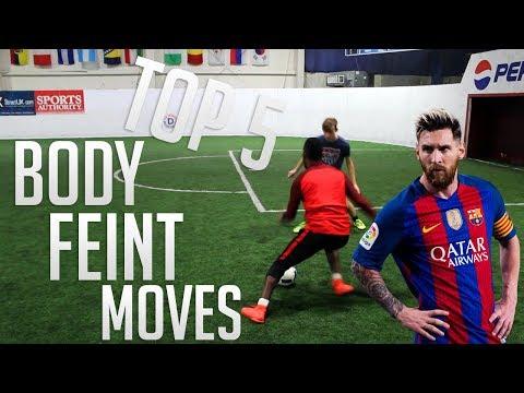 TOP 5 BODY FEINTS IN FOOTBALL