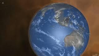 宇宙物理シミュレーター「Universe Sandbox 2」を用いて試した内容を動...