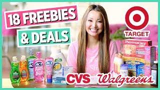 ★ 18 FREEBIES & Deals - Target, CVS, Walgreens Couponing (Week 4/28- 5/4)2019 04 28
