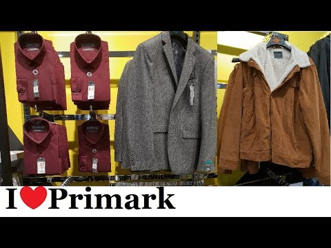 Primark Mens Fashion | October 2018 | I❤Primark