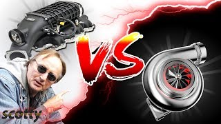Supercharger vs Turbocharger - Why Supercharged Car is Better than Turbo