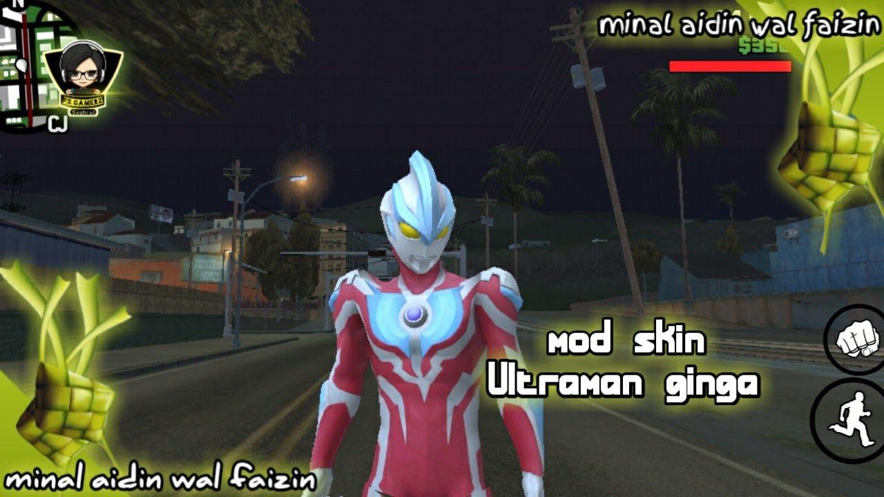 cara instal skin ultraman ginga - gta sa android