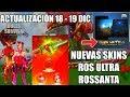 SUPER ACTUALIZACIÓN NAVIDEÑA! | ROS ULTRA, NUEVAS SKINS Y MUCHOS EVENTOS GRATIS!