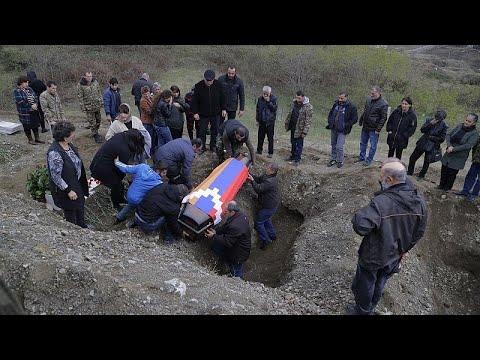 Степанакерт: разрушенный город