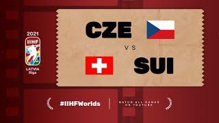 Czech Republic - Switzerland | Live | Group A | 2021 IIHF Ice Hockey World Championship