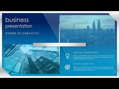 How To Design a Beautiful Title, Heading, Corporate Slide in Microsoft Office PowerPoint PPT