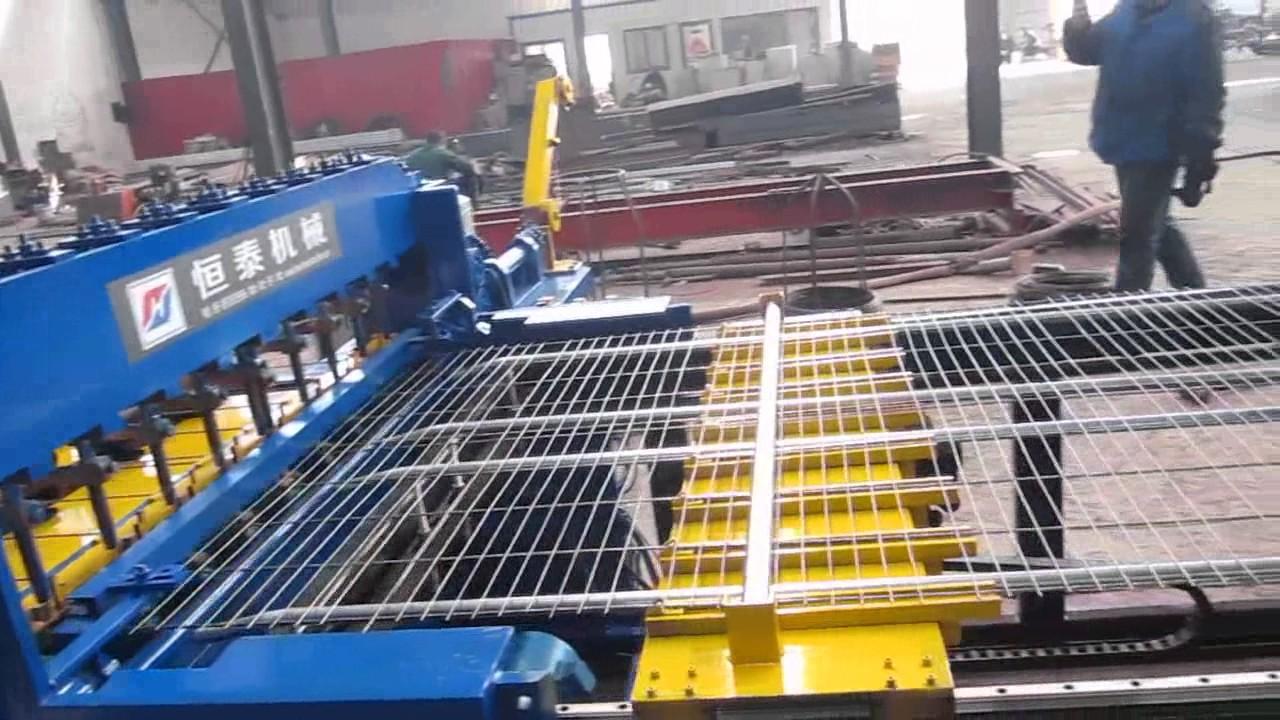 Full automatic welded wire mesh panel machine/Wire Mesh welding ...