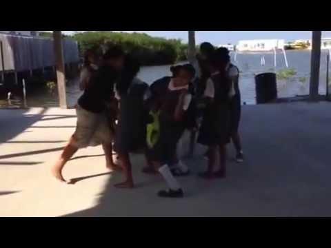 Belize Holy Cross Dance 2014