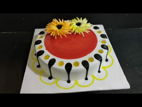 Top Amazing Cake || How To Make Red jelly And Chocolate Jelly Cake Decoration By Top cake master