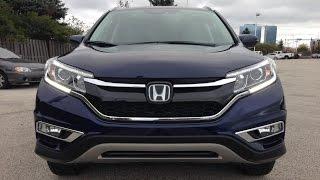 2015 Honda CRV Touring (1st look)