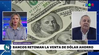 El regreso de la venta de dólares en los bancos