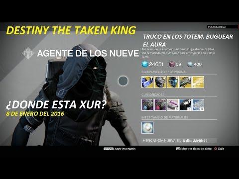 DESTINY THE TAKEN KING DONDE ESTA XUR TIPS DE LA SEMANA TRUCO EN EL AURA DE LOS TOTEM