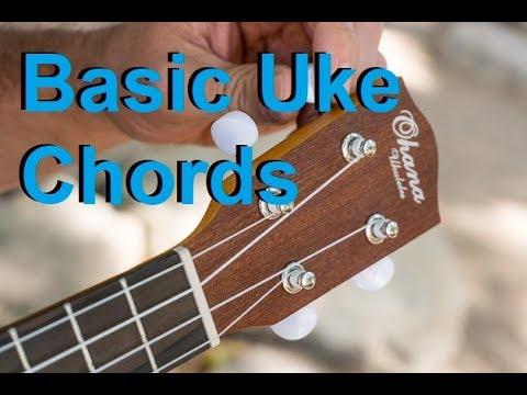 Basic Ukulele Chord Shapes With Nick Youtube