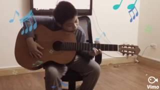 Đánh guitar bài gravity falls