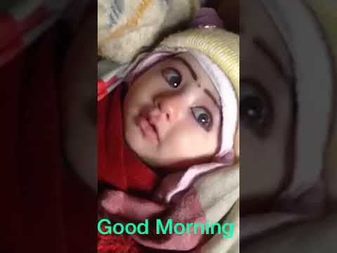 Cute Baby Girl Expressions Vth Good Morning Youtube